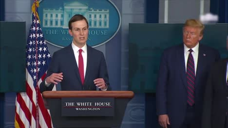 """Jared-Kushner-States-That-The-Federal-Stockpile-Is-""""""""Our""""""""-Stockpile-Rather-Than-Belonging-To-The-States-At-A-Coronavirus-Covid19-Task-Force-Press-Conference"""