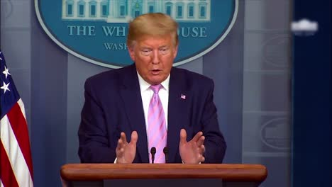 April-4-Corona-Virus-Covid19-Press-Briefing-At-White-House-Includes-President-Donald-Trump-Saying-He-May-Take-Chloroquine-To-Combat-The-Virus