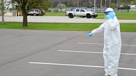 Covid19-Coronavirus-Patients-Are-Tested-At-A-Drive-Thru-Clinic-By-National-Guard-Of-Tennessee-6
