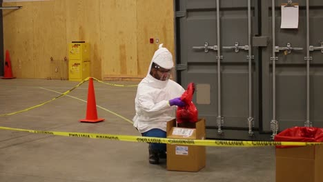 The-Battelle-Ccds-Critical-Care-Decontamination-System-Is-Tested-For-Decontaminating-Surgical-Masks-During-The-Coronavirus-Covid19-Pandemic-Outbreak