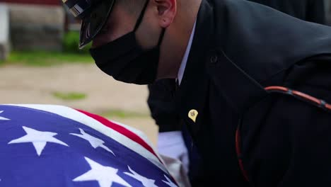 Soldiers-At-Joint-Base-Myerhenderson-Hall-In-Virginia-Conduct-Military-Funeral-During-The-Covid19-Pandemic-Coronavirus-Outbreak