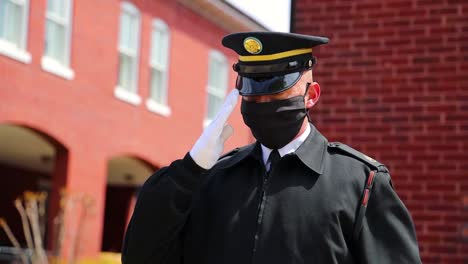 Soldier-At-Joint-Base-Myerhenderson-Hall-In-Virginia-Conduct-Military-Funeral-And-Salutes-During-The-Covid19-Pandemic-Coronavirus-Outbreak