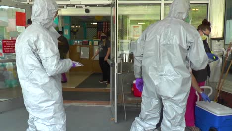 West-Virginia-National-Guard-Soldiers-And-Airmen-Test-Hopemont-Hospital-Staff-Members-For-Covid19-Coronavirus-Epidemic-Outbreak-1