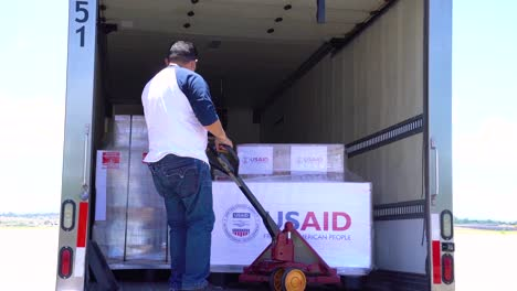 Usaid-Providing-50-Ventilators-Being-Prepared-For-Delivery-To-Russia-At-March-Air-Reserve-Base-California-During-Covid19-Coronavirus-Crisis