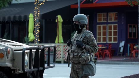 National-Guard-Troops-Oversee-Civil-Unrest-In-Raleigh-North-Carolina-During-The-George-Floyd-Black-Lives-Matter-Protests-1