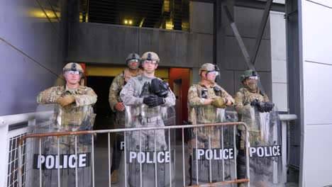 Georgia-National-Guard-Oversee-Street-Protesters-During-The-George-Floyd-Black-Lives-Matter-Protests-In-Atlanta