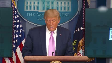 Us-President-Donald-Trump-Addresses-The-Press-About-Operation-Legend-Which-Will-Confront-Blm-Protesters-And-Criminal-Activities-In-Democrat-Run-Cities-Like-Portland-New-York-San-Francisco-And-Seattle