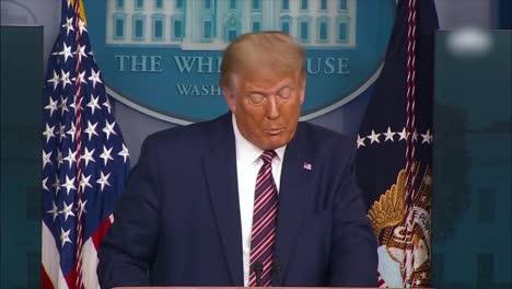 US-Präsident-Donald-Trump-Spricht-Vor-Der-Presse-über-Demokraten-Die-Von-Sozialisten-Extremisten-Und-Kommunisten-übernommen-Wurden-Und-Wie-Sie-Den-Amerikanischen-Lebensstil-Zerstören-Wollen