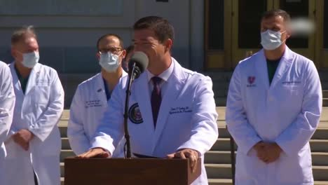 Dr-Sean-Conley-Trump-Doctor-Provides-An-Update-On-President-Trump-Covid19-Coronavirus-Condition-Outside-Walter-Reed-Hospital-In-Bethesda-Maryland-2