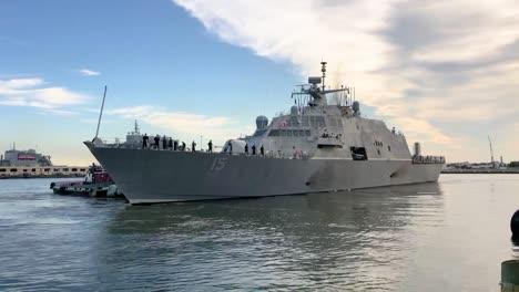 Ships-Prepare-To-Set-Sail-From-Virginias-Naval-Station-Norfolk-Ahead-Of-Hurricane-Dorian