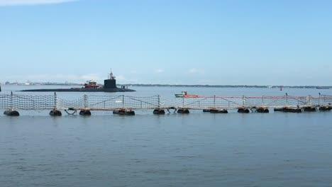Ships-Prepare-To-Set-Sail-From-Virginias-Naval-Station-Norfolk-Ahead-Of-Hurricane-Dorian-2
