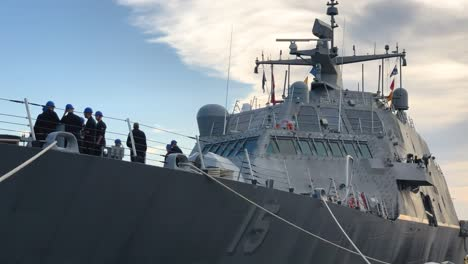 Ships-Prepare-To-Set-Sail-From-Virginias-Naval-Station-Norfolk-Ahead-Of-Hurricane-Dorian-4