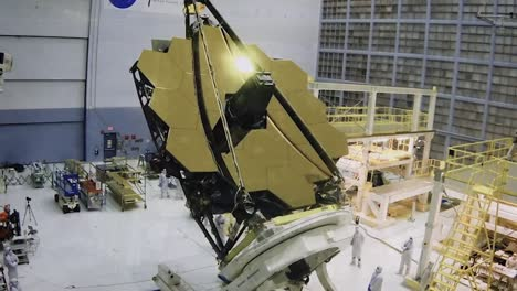 Live-Action-And-Animation-Of-the-James-Webb-Space-Telescope-Assembly-And-Mission