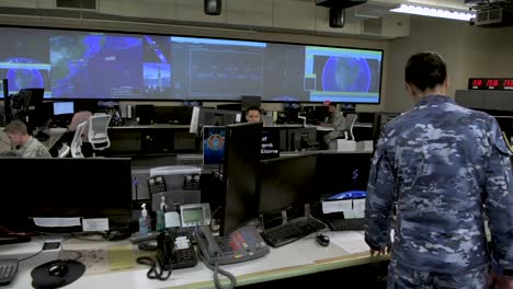 Establishing-Shot-Of-Personnel-In-the-Combined-Space-Operations-Center-At-Vandenberg-Afb-California-1