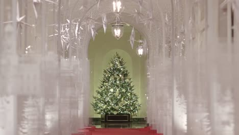 Melania-Trump-Showcases-A-Beautiful-Variety-Of-Christmas-Decorations-At-the-White-House