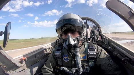 Student-Pilots-Learn-And-Practice-Basic-Maneuvers-In-A-T38-Talon-At-Vance-Air-Force-Base-Oklahoma
