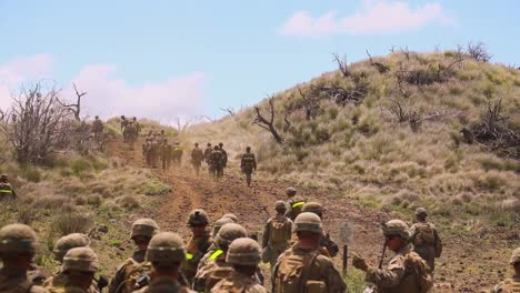 Us-Marines-With-the-3Rd-Marine-Regiment-Conduct-A-Platoon-Supported-Attack-At-Pohakuloa-Training-Area-Hawaii-3