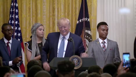 President-Trump-Delivers-Remarks-At-the-Young-Black-Leadership-Summit-At-the-White-House-Washington-Dc-1