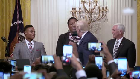 President-Trump-Delivers-Remarks-At-the-Young-Black-Leadership-Summit-At-the-White-House-Washington-Dc-2
