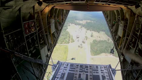 815th-Airlift-Squadron-Aka-ñflying-Jennies—-Airdrop-Supplies-To-Us-Army-Soldiers-At-Camp-Shelby-Mississippi