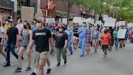 Black-Lives-Matter-Protesters-March-through-the-Streets-Of-Nashville-Tennessee-During-A-Blm-Rally-6