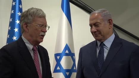 Us-National-Security-Advisor-John-Bolton-Meets-Isreali-Prime-Minister-Benjamin-Netanyahu-In-Jerusalem-Isreal-1