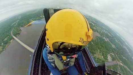 A-View-From-the-Cockpit-Of-the-Us-Navy-Flight-Demonstration-Squadron-the-Blue-Angels-In-Action-1