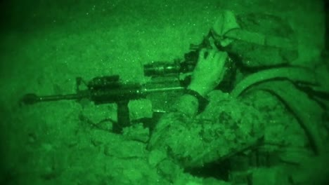 Us-Marines-Conduct-A-Long-Range-Raid-During-A-Night-Time-Training-Exercise-At-Twentynine-Palms-California