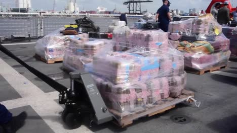 A-Coast-Guard-Cutter-Offloads-More-than-30000-Pounds-Of-Marijana-And-Cocaine-Interdicted-In-the-Caribbean