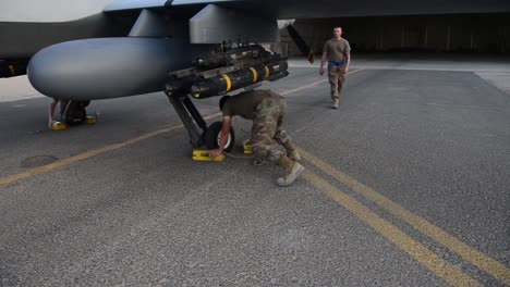 386th-Expeditionary-Aircraft-Squadron-Maintaining-An-Mq9-Reaper-Drone-At-Ali-Salem-Air-Base-In-Kuwait