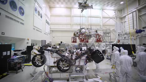 Time-Lapse-Of-Some-Of-the-Tests-Performed-On-the-Nasa-Jpl-And-Cal-Tech-Perserverance-Rover-Bound-For-Mars