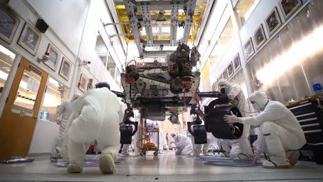 Tiempo-Real-Y-Lapso-De-Tiempo-De-Las-Pruebas-Del-Rover-Perserverance-De-La-Nasa-Jpl-Y-Cal-Tech-Con-Destino-A-Marte