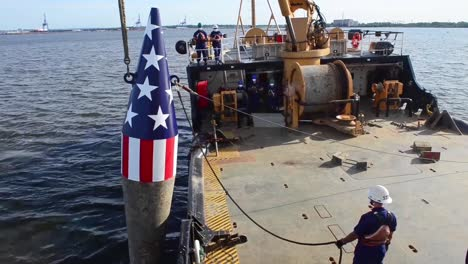 Us-Coast-Guard-Crew-Sets-the-Francis-Scott-Key-Memorial-Buoy-Where-He-Wrote-the-National-Anthem-Baltimore-1