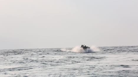 Us-Marines-Practice-Launch-And-Recovery-Drills-With-Rubber-Raiding-Craft-From-A-Ship-In-the-Philippine-Sea-1