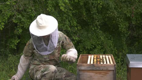 Know-Your-Military-Video-Of-Army-Soldier-Learning-Beekeeping-As-A-Hobby-During-Covid19-In-Ansbach-Germany