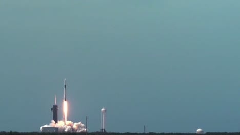 Nasa-And-Space-X-Demo-2-Launch-Americans-Into-Space-From-Cape-Canaveral-Air-Force-Station-Florida-3