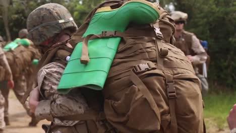 Us-Marines-Conduct-Simulated-Chemical-Biological-Radiological-And-Neurological-Drills-Cbrn-At-Okinawa-Japan