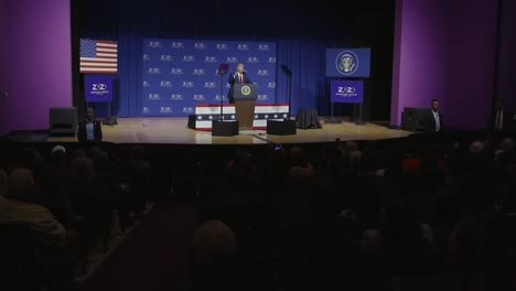 United-States-President-Donald-Trump-Speaks-To-the-Second-Step-Presidential-Justice-Forum
