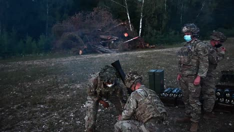 Us-Army-Paratroopers-Assigned-To-173Rd-Airborne-Brigade-Conduct-Mortar-Training-Field-Exercises-Grafenwoehr-Germany-7