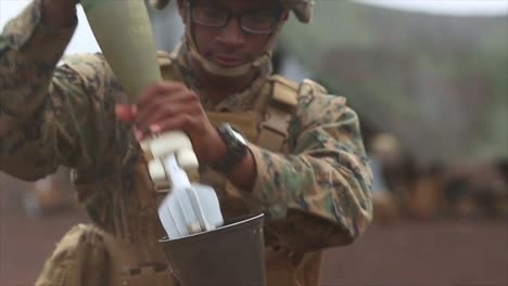 Us-Marines-Fire-Mortars-And-Call-In-Air-Support-During-A-Combinedarms-Fire-Support-Exercise-Pohakuloa-Hawaii