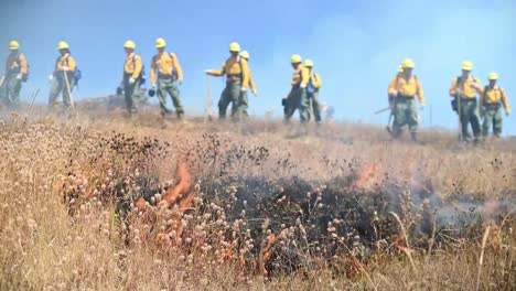 Oregon-National-Guardsmen-Complete-Wildland-Brush-Fire-Firefighter-Training-To-Earn-their-ñred-Card—-Salem-Oregon
