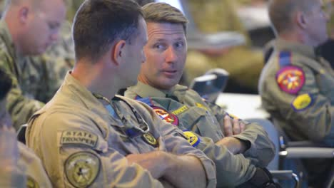 Military-Commanders-Brief-A-Us-Commando-Team-Prior-To-A-Mission