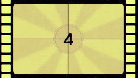 Fondo-Abstracto-De-Cuenta-Regresiva-De-Película-Retro-Amarillo-En-Movimiento-En-Estilo-80-90