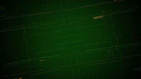 Fondo-De-Animación-Cyberpunk-Con-Números-De-Matriz-De-Computadora-Y-Cuadrícula-2