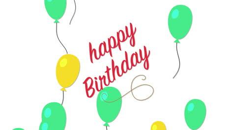 Primer-Plano-Animado-Texto-De-Feliz-Cumpleaños-Con-Globos-Sobre-Fondo-De-Vacaciones