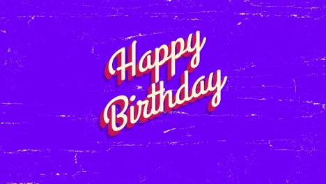 Animated-closeup-Happy-Birthday-text-on-purple-holiday-background