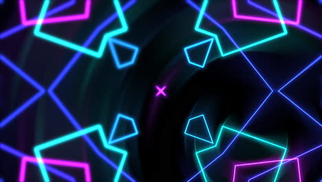 Motion-abstract-neon-geometric-shape-in-space-laser-club-background-1