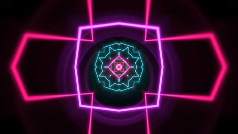 Bewegung-Abstrakte-Neon-Geometrische-Form-Im-Raum-Laser-Club-Hintergrund-4-Background