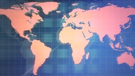 Animación-Gráfica-De-Noticias-Con-Cuadrícula-Y-Fondo-Abstracto-De-Mapa-Mundial-1