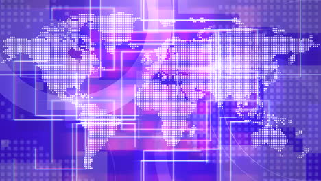 News-intro-graphic-animation-with-lines-and-world-map-abstract-background